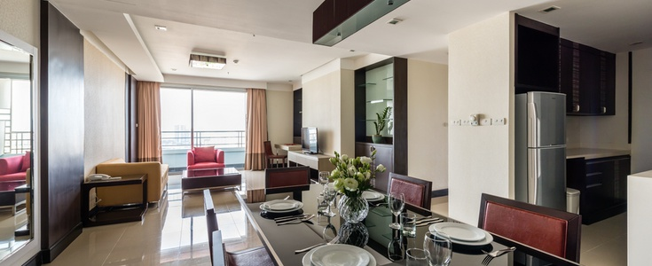 GRANDE SUITES 3 BEDROOM Jasmine 茉莉豪华公寓酒店